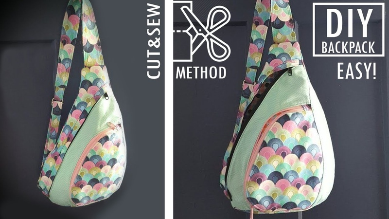 FANTASTIC DESIGN DIY BACKPACK CUT SEW WAY Without Difficult Pattern Backpack