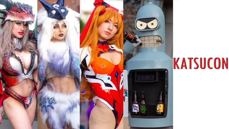 THIS IS KATSUCON 2020 BEST COSPLAY MUSIC VIDEO BEST COSTUMES COMIC CON ANIME CMV BEST COSPLAYERS