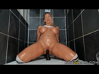 Rebecca More - Rebecca's Shower Time Fun , Solo, Sex Toys, Masturbation, Big Tits, 1080p