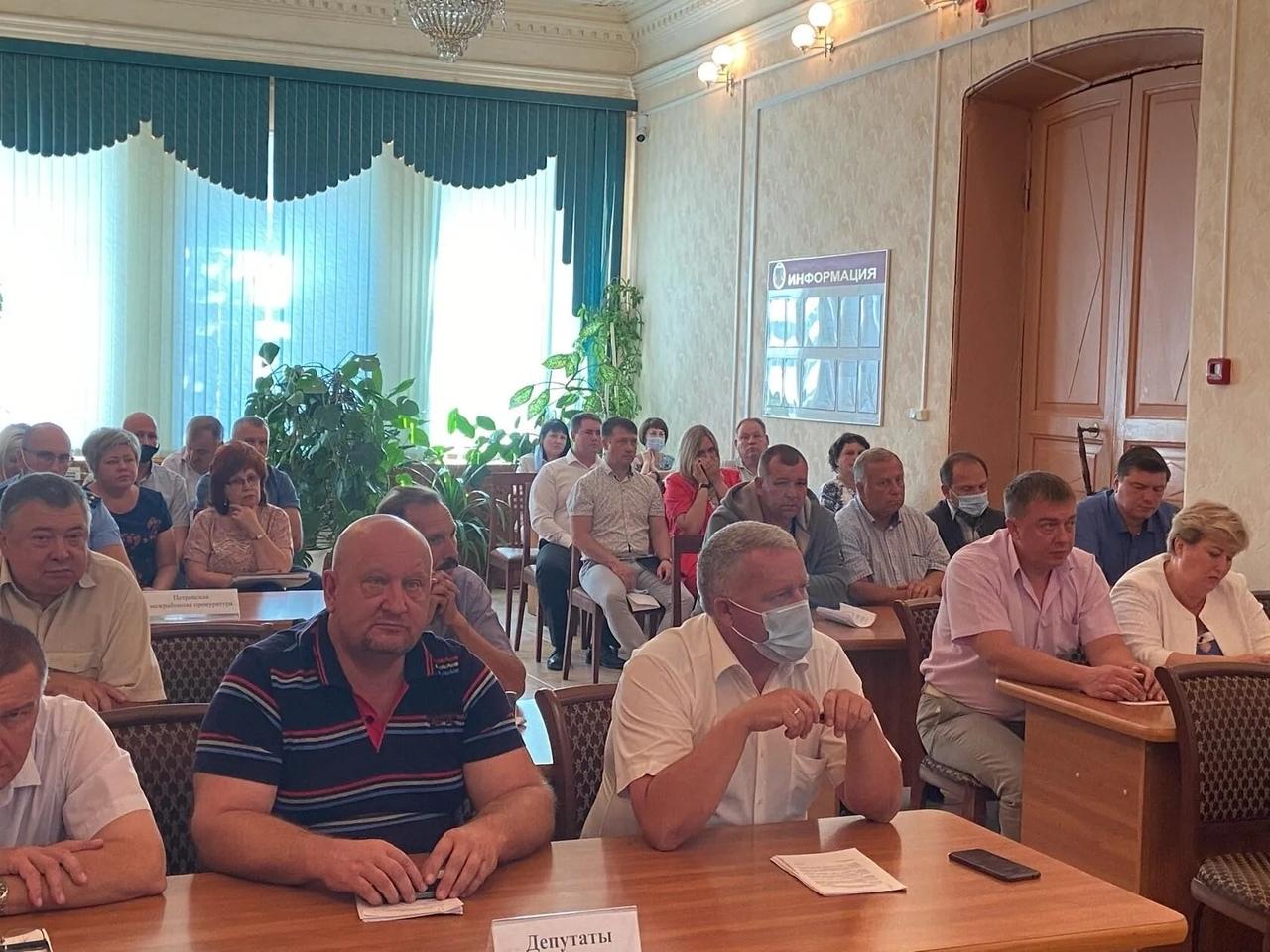 Состоялось очередное заседание депутатского корпуса городского Совета
