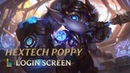 Hextech Poppy Login Screen - League of Legends