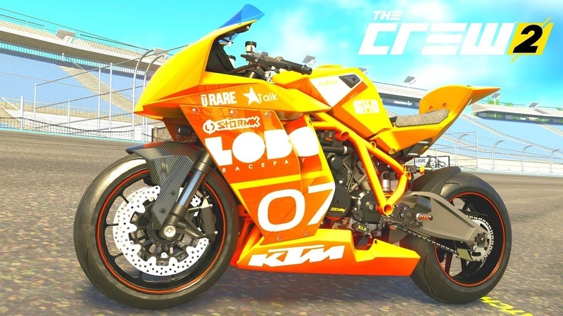 THE CREW 2 GOLD EDiTiON TUNiNG KTM 1190 RC8 R Power Track Edition PART 1355