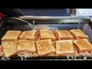 Myeongdong / Hamburger Toast / Seoul Korea / Korean Street Food / 명동 햄버거 토스트 / 명동 길거리음식