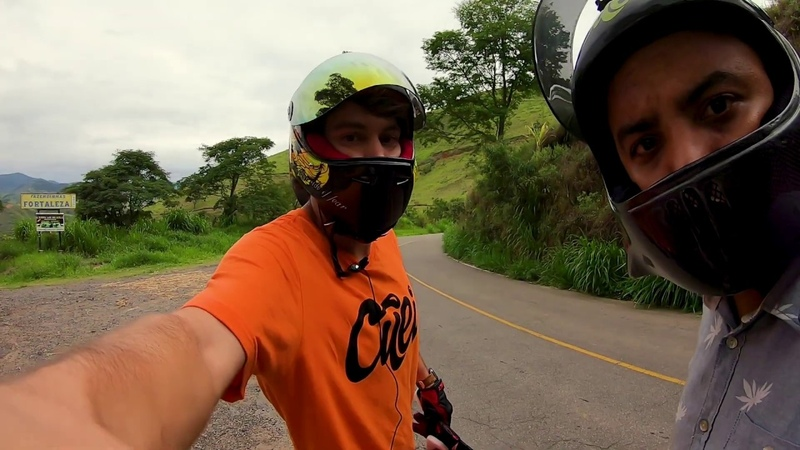 OG Longboard Downhill riding in Juiz de Fora Brazil