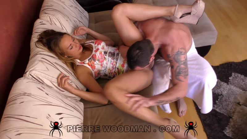 WoodmanCastingX Kasandra Layn -MY FIRST DAP WITH 2 MEN- Woodman Casting X Couch Creampie Cumshot Beauties Hottie