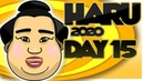 SUMO Haru Basho 2020 Day 15 March 22nd Makuuchi ALL BOUTS