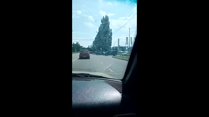 ДТП Октябрьский мост остановка Речная