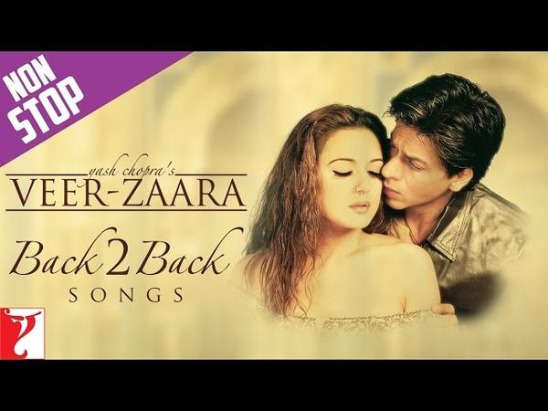 Back2Back Songs : Veer-Zaara | Shah Rukh Khan | Preity Zinta