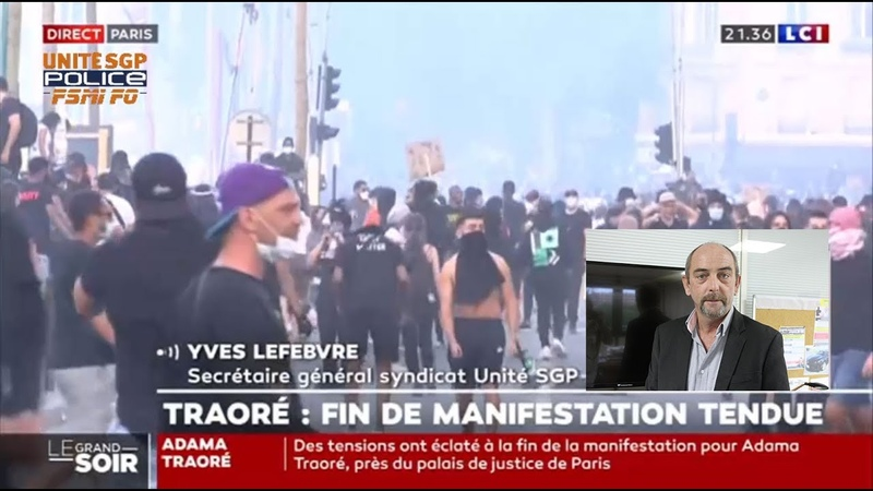 Yves Lefebvre réagit aux débordements de la manifestation en mémoire à