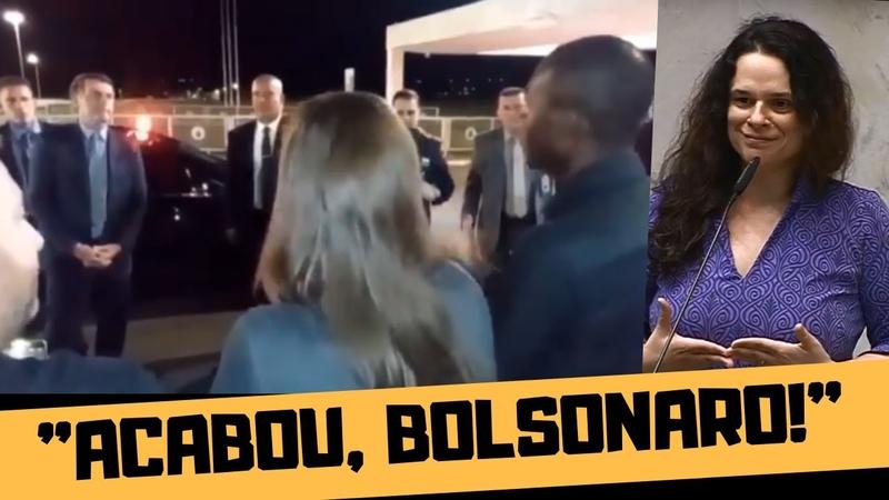 ACABOU BOLSONARO JANAÍNA PASCHOAL PEDE AFASTAMENTO DO PRESIDENTE