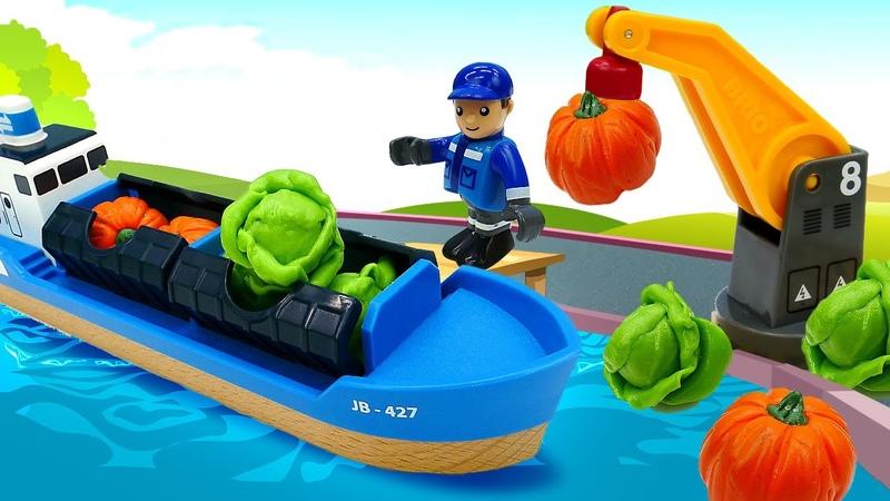 Video aus der BRIO Stadt Tolles Spielzeug aus Holz Wir ernten Gemüse