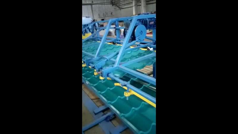 Производство черепицы Монтеррей люкс цвет морская волна создаем свое море ☎️2224747