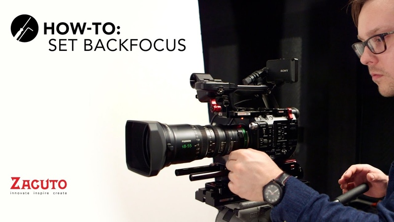 How to Set Backfocus - featuring the Fujinon MK 18-55 lens