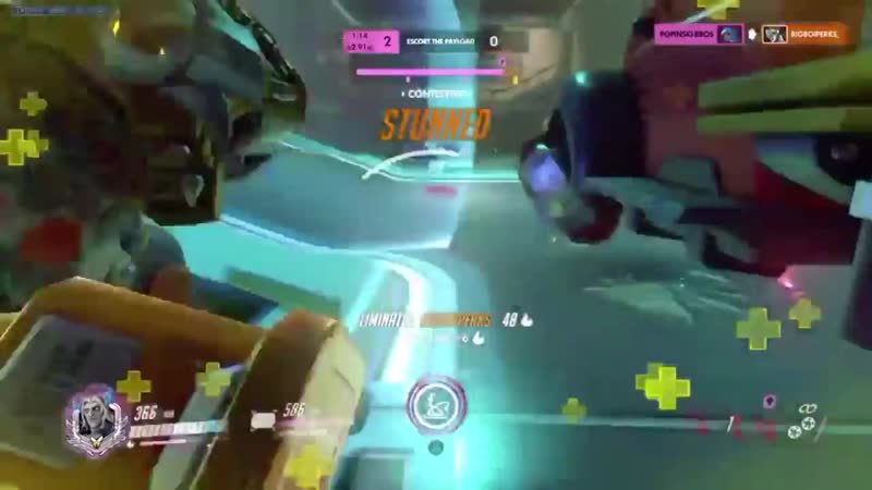 I tried blocking Rein's shatter Our Hammond booped him past my shield losing us that fight I was so salty