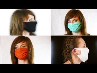 Как быстро сшить многоразовую маску!