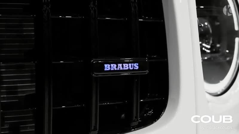 BRABUS 800 2020 Mercedes AMG G 63 White