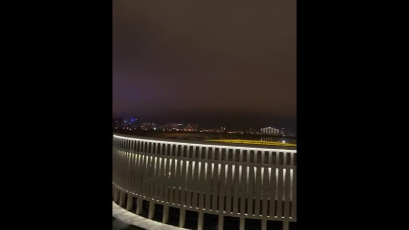 Ночной парк Краснодар
