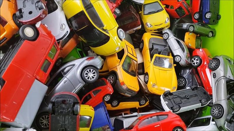 Big box full of Welly cars