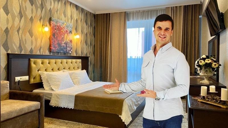 Обзор номера ДеЛюкс Прибой Гранд отель и СПА