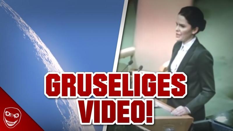 Beweis für gruselige Dinge die am Himmel passieren UN Video Mysterium