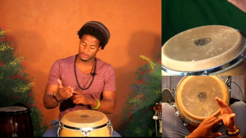 Jeff Pierre Haitian Rhythms Drum Sounds