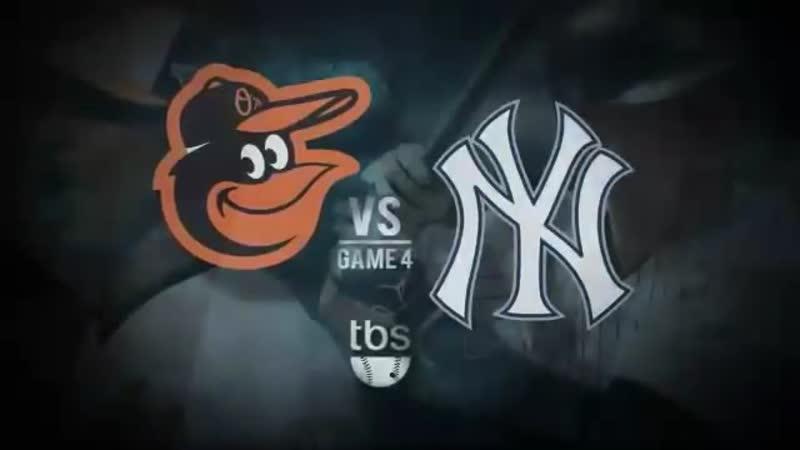 Постсезонье 2012 ALDS Нью Йорк Янкиз Балтимор Ориолс 4 й матч серии