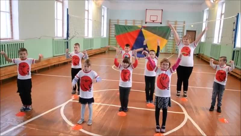 Весёлая зарядка с юными олимпийцами из Полевского