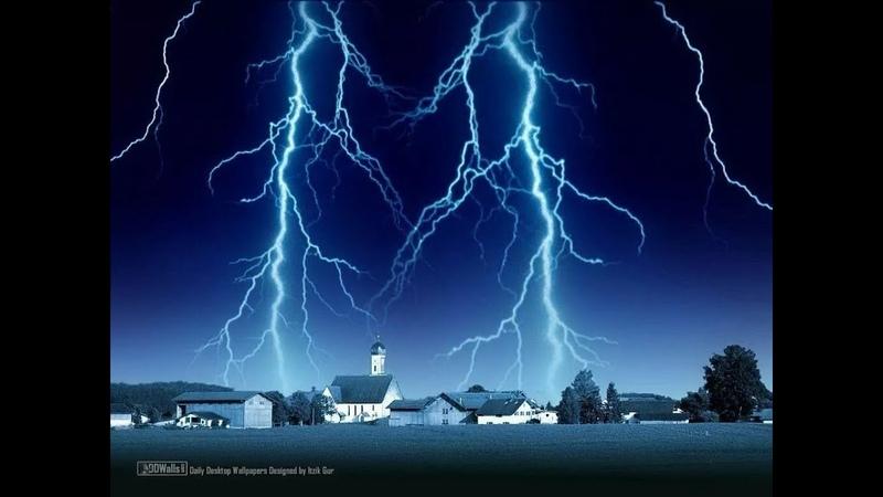 Электрическое поле атмосферы, это среда обитания всего живого, как и вода для рыбы