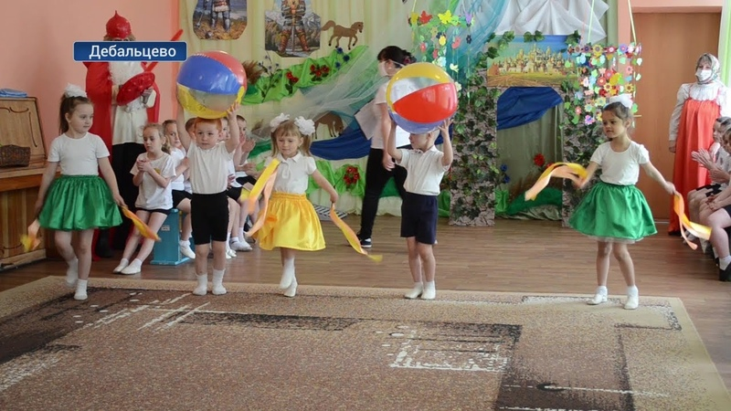 День здоровья прошел в Дебальцевском детском саду