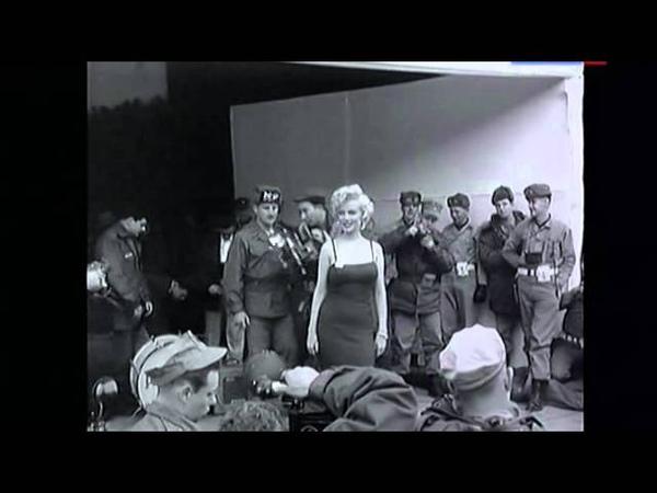 Мэрилин Монро в Корее 1954 год