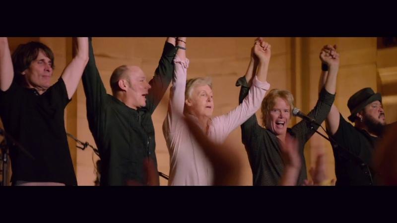 Paul McCartney 'Golden Slumbers' Live from Grand Central Station New York