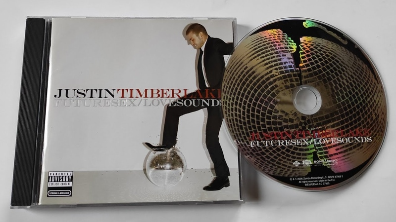 Justin Timberlake FutureSex LoveSounds cd unboxing