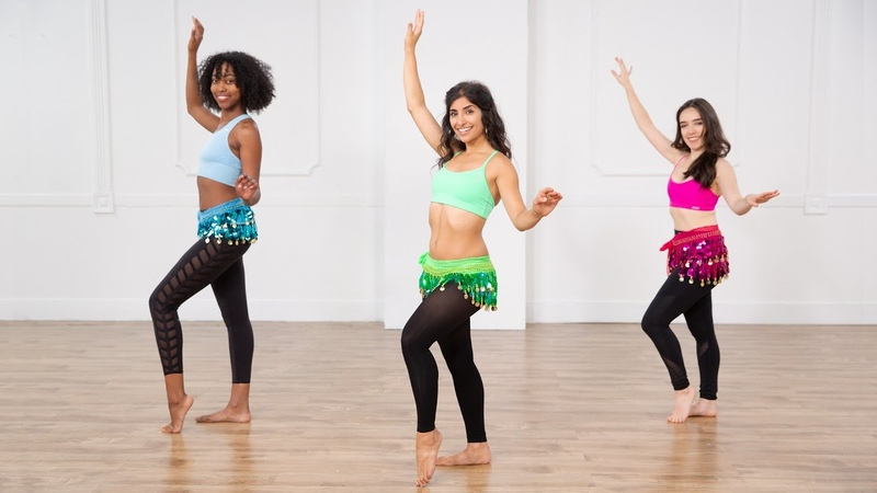 30 Minute Belly Dancing Workout For a Toned Core