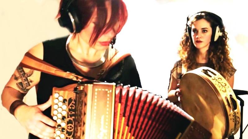 LE NINFE DELLA TAMMORRA - Laria de lu mare - Official Music Video - Musica Popolare e World Music