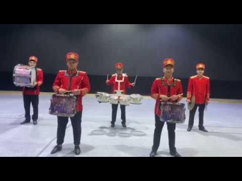 2 Шоу барабанщиков Государственной академической филармонии г Нур Султан