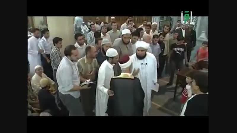 шейх Рамазан Әл-Бути(рахимахуллаһ) мен шейх Али Джифри(хавизуллаһ)