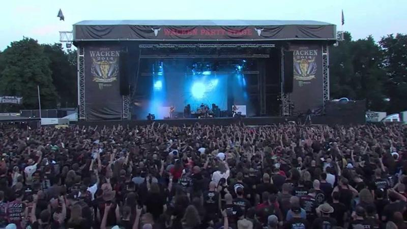 Carcass Live @ Wacken 2014 Full Show Pro Shot HD