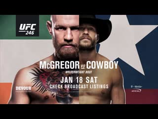 Конор Макгрегор vs. Дональд Серроне: промо боя NR