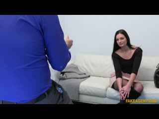 FakeAgent - Shy skinny babe loves to ride / Leanne Lace