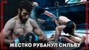 ЖЕСТКО РУБАНУЛ СИЛЬВУ - Азамат Пшуков - Лучший НОКАУТ в ACA