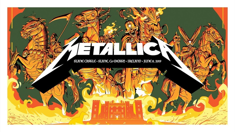 Metallica Live at Slane Castle Meath Ireland June 8 2019