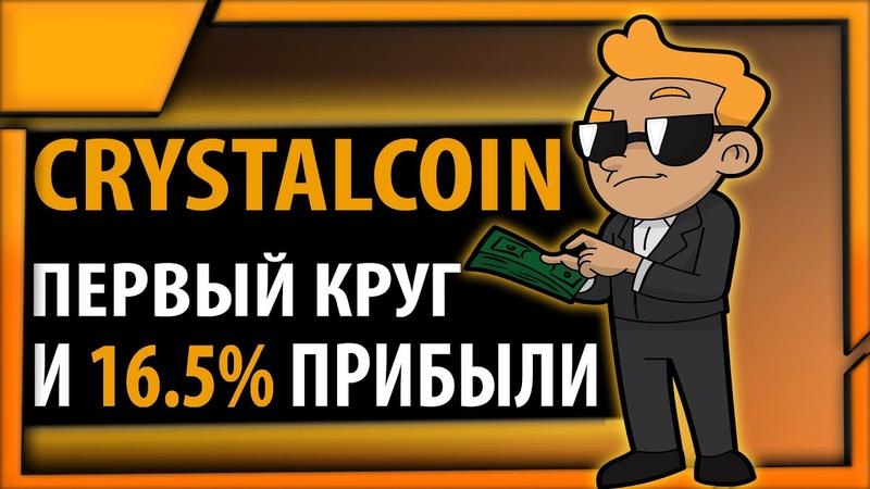 Прошел первый круг в партизане и заработал 16 5% прибыли