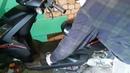 Стучит двигатель скутера начало ремонта