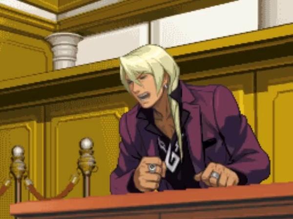 Ace Attorney Billie Jean