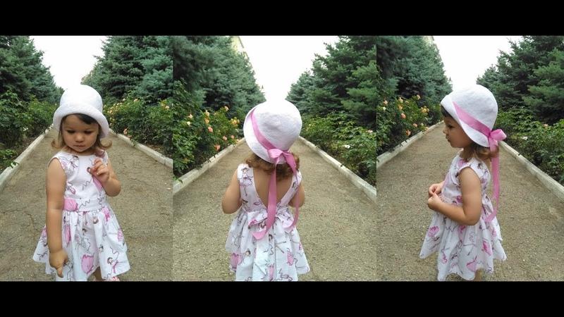 Шляпа крючком на любой обхват головы Crochet hat for every head
