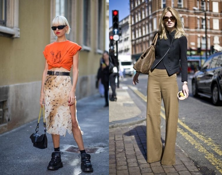 3 модные хитрости, как выделить талию там, где ее нет, — и у худых, и у полных