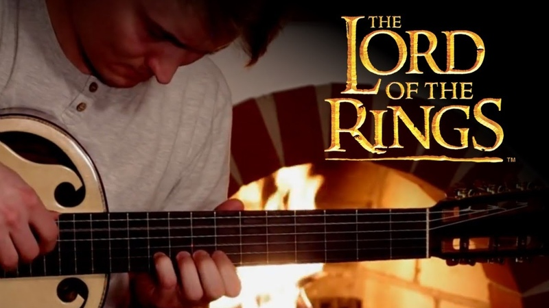 The Lord of the Rings Classical Guitar Medley Shire Rohan Gondor by Lukasz Kapuscinski