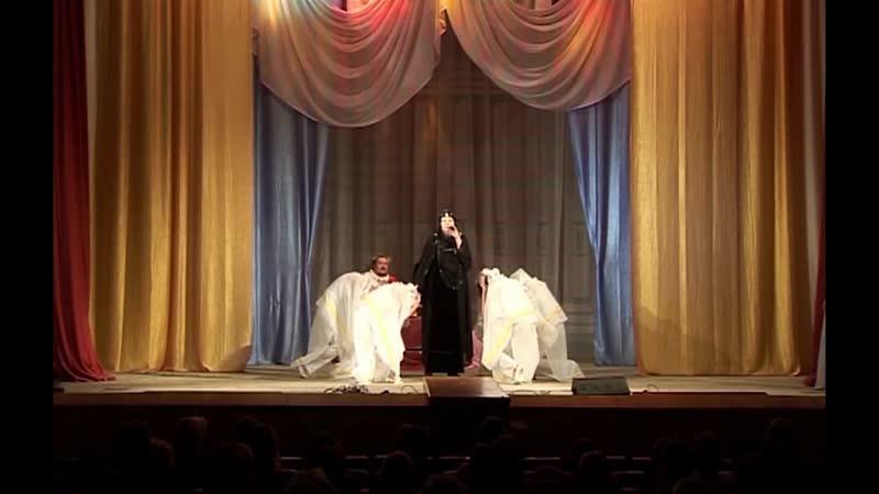 Елена Рощина фрагмент спектакля Забыть Герострата 2010г