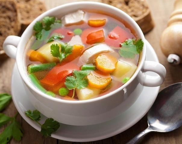 Изумительно вкусный Суп «Мозаика»