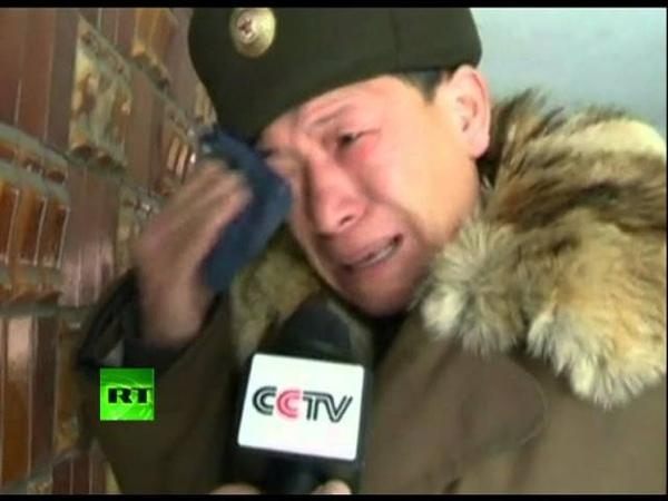 Массовая истерия в КНДР после смерти Ким Чен Ира